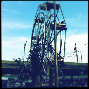 Ferris Wheeil at OLMC Feast.