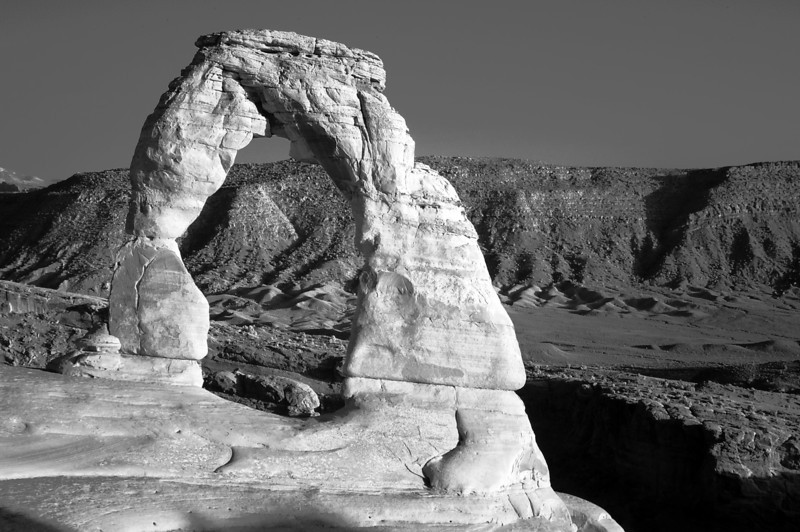 Delicate Arch Infrared
