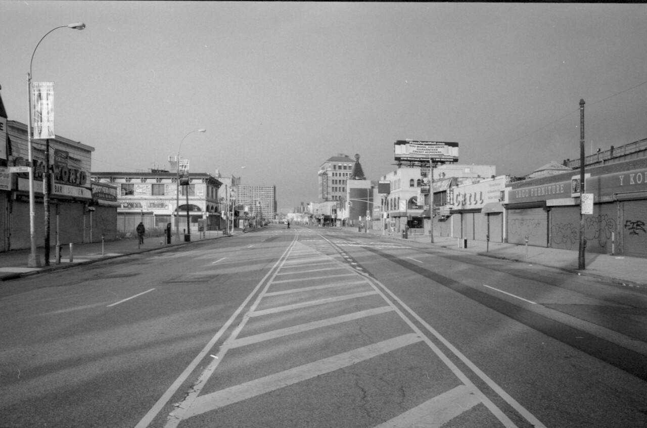 Surf Avenue Black and White