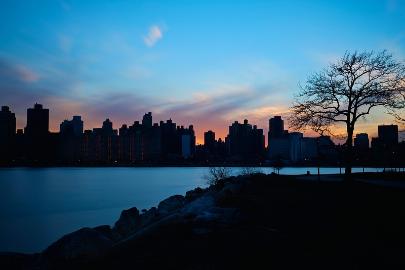 Manhattan East River Sunset