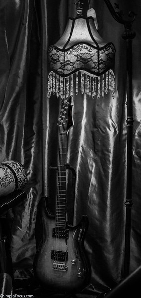 Waiting to Play (B&W)