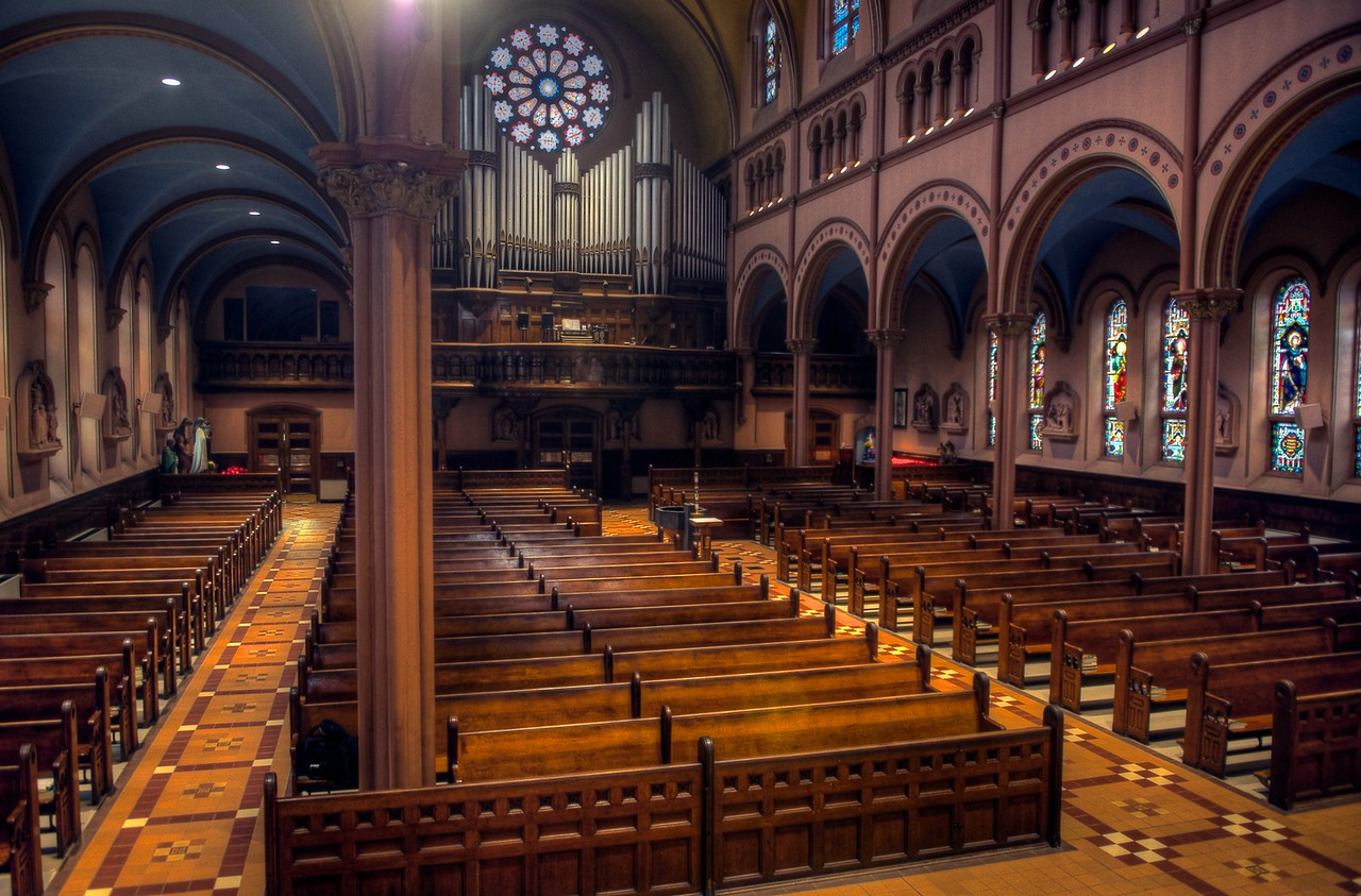 St. Mary's Church [Church of the Immaculate Conception] Yonkers, NY - Ambo or Pulpit View