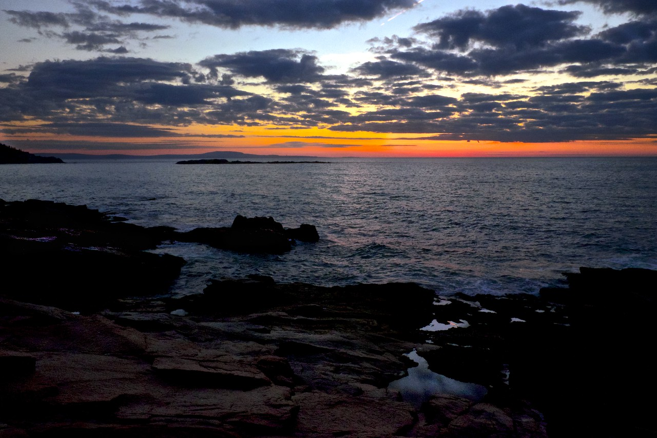 Thunder Hole Dawn