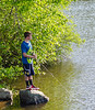 Fishing on Swift Creek Reservoir - Midlothian, VA