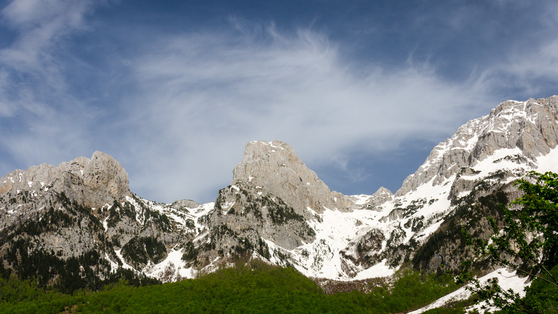 Three Peaks @ Valbona Valley National Park, Valbona, Albania