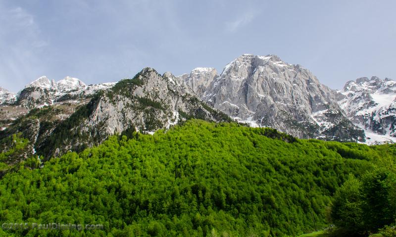 Mountain Ridge @ Valbona Valley National Park, Valbona, Albania