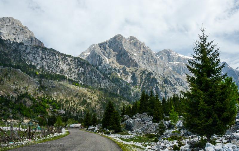 Mountain View Along Rruga Azem Hajdari - Valbona, Albania
