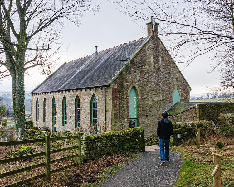 Bowlees Visitor Centre c. 1845 (was Bowlees Primitive Methodist) - Newbiggin - Barnard Castle, England, UK