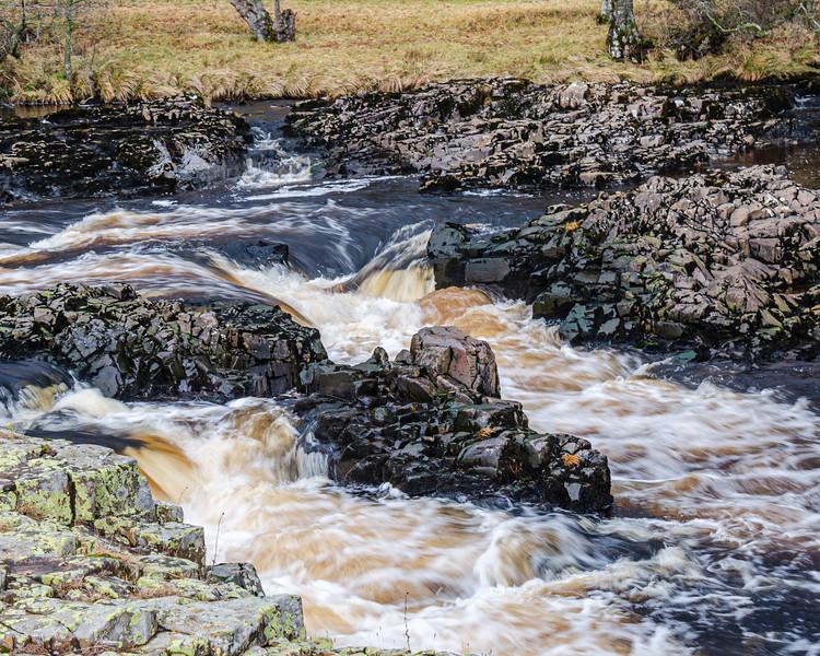 Dual Falls @ Low Force - Newbiggin - Barnard Castle, England, UK