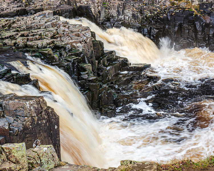 Small Waterfalls @ Low Force - Newbiggin - Barnard Castle, England, UK