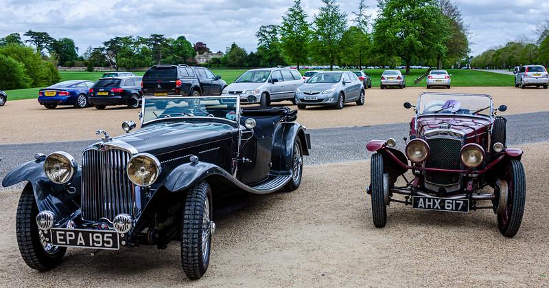 AC Cars & Frazer Nash Classic Cars @ Blenheim Palace - Woodstock, England, UK