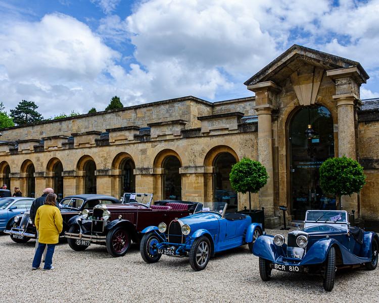 Classic Cars @ Blenheim Palace - Woodstock, England, UK