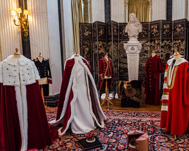 Coronation Robes @ Blenheim Palace - Woodstock, England, UK