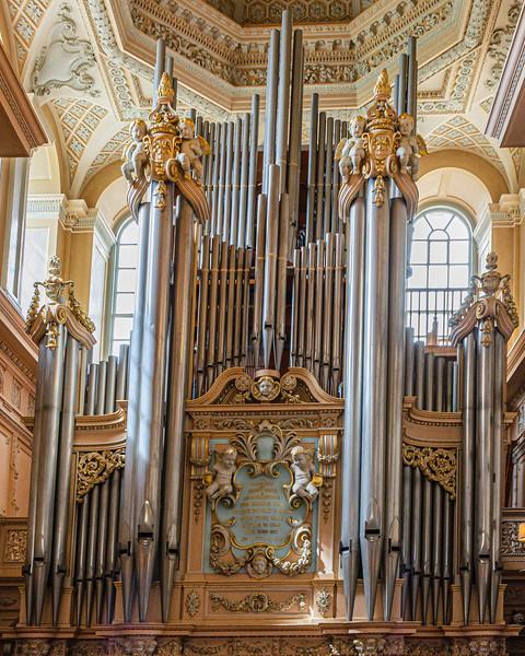 Long Library Pipe Organ c. 1891 (Henry Willis & Sons) @ Blenheim Palace - Woodstock, England, UK