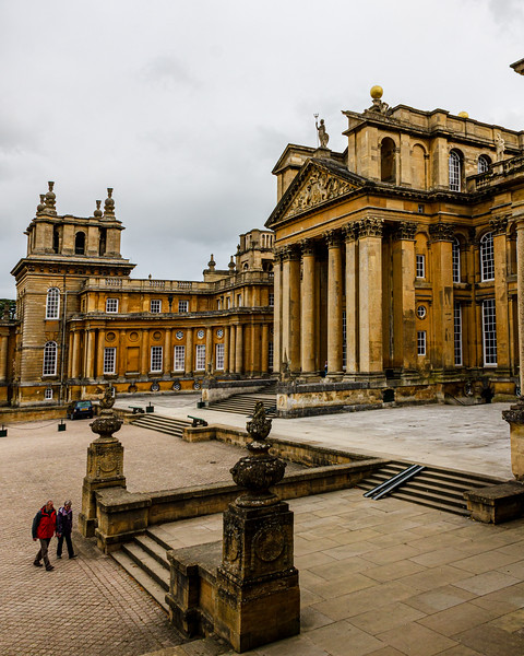 The Great Court @ Blenheim Palace - Woodstock, England, UK