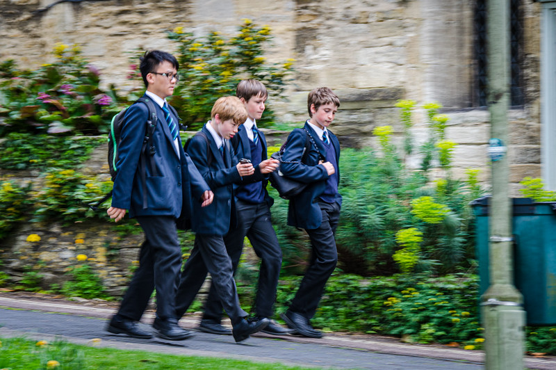 Schoolboys - Burford, England, UK