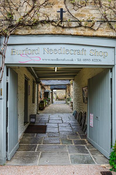 Burford Needlecraft Shop (closed) - Burford, England, UK