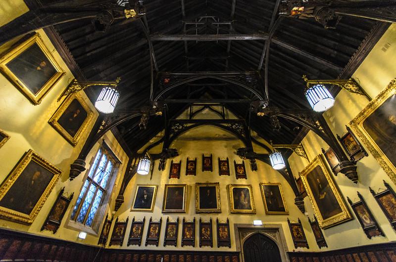 Main Hall Perpendicular Hammberam Roof @ Durham Town Hall - Durham, England, UK