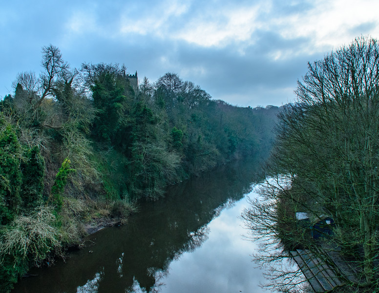 River Wear @ Kingsgate Bridge - Durham, England, UK