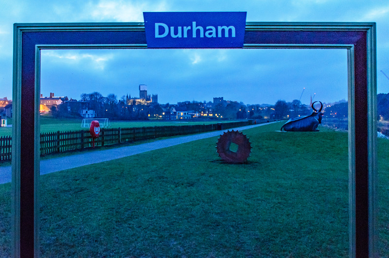 Photo Frame @ The Racecourse on the River Wear - Durham, England, UK