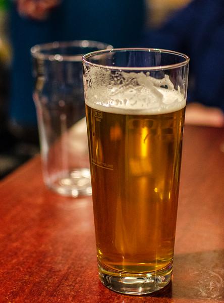 English Beer @ The Station House Pub - Durham, England, UK