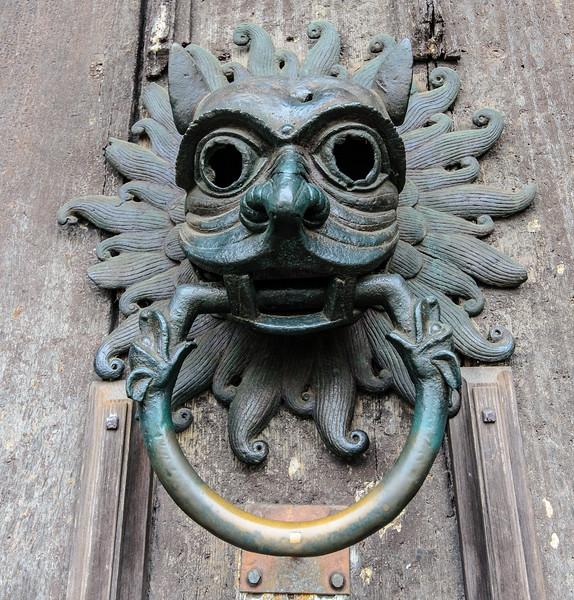 Sanctuary Knocker @ Durham Cathedral - Durham, England, UK