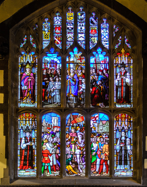 Great West Window @ Durham Town Hall - Durham, England, UK