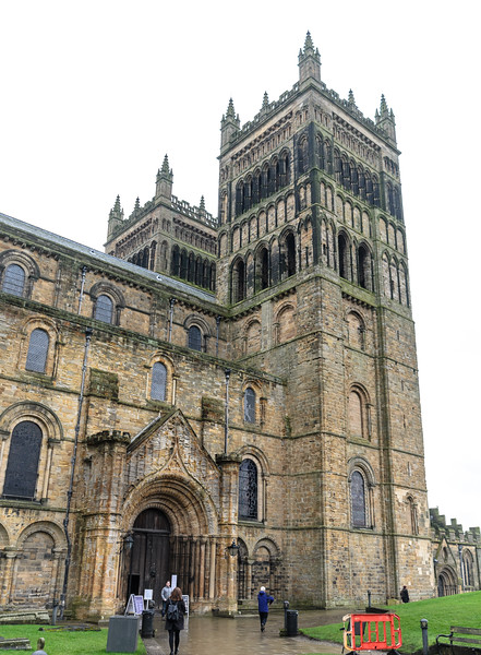 Entrance & Western Towers @ Durham Cathedral - Durham, England, UK