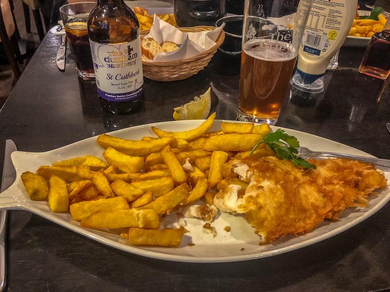 Bells Fish & Chips - Durham, England, UK
