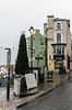 Christmas Tree on Saddler Street - Durham, England, UK