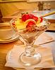 Yogurt & Granola w/Bananas & Strawberries @ Treats - Durham, England, UK