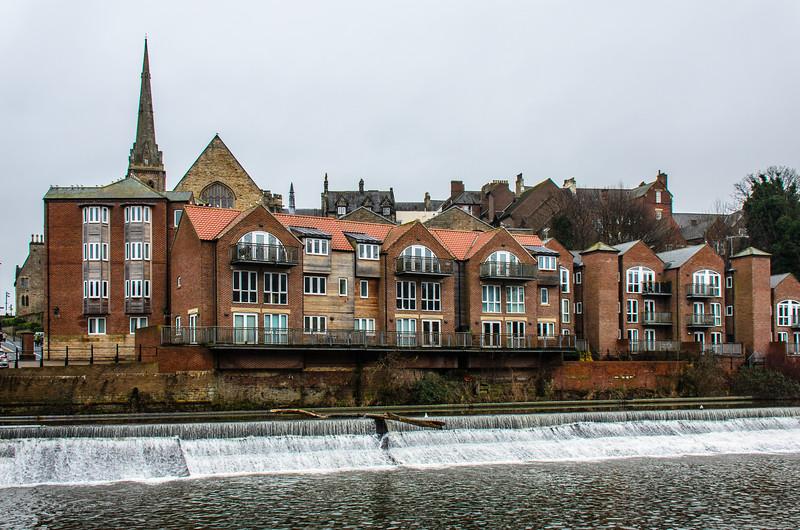 Riverside Retreat from Framwelgate Waterside - Durham, England, UK
