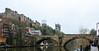 Framwelgate Bridge & Durham Gastle & Cathedral - Durham, England, UK