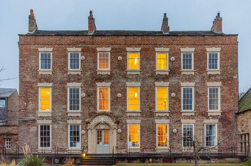 Bishop Cosin's Hall c. 1700 @ Palace Green - Durham, England, UK
