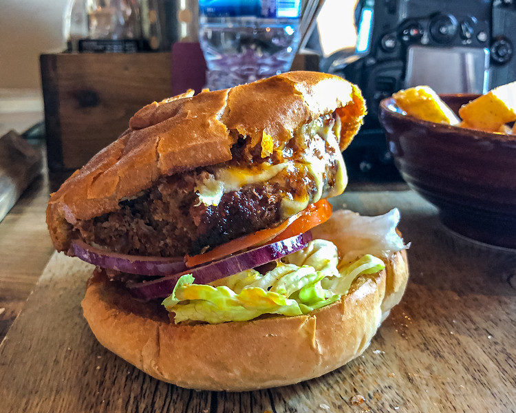 Wild Boar and Chorizo Burger @ Duke of Wellington - Durham, England, UK