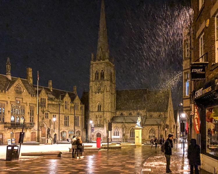 Market Square - Durham, England, UK