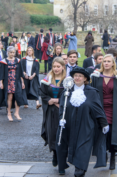 Procession into Durham Cathedral @ Durham University Congregation - Durham Cathedral, Durham, England, UK