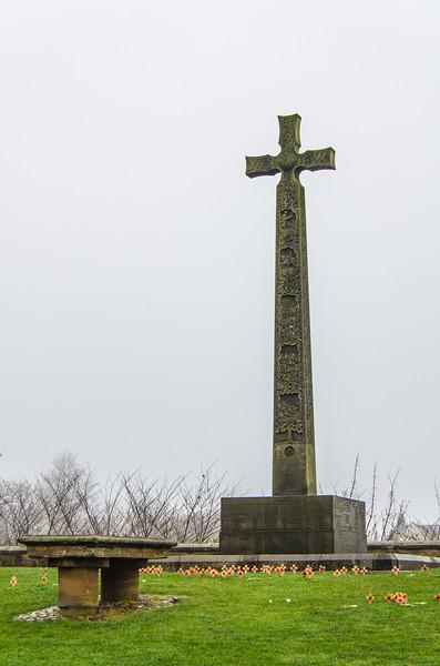 DLI South African War Memorial c. 1905 (Hodges, Milburn, & Graydon) @ Palace Green @ Durham Cathedral - Durham, England, UK