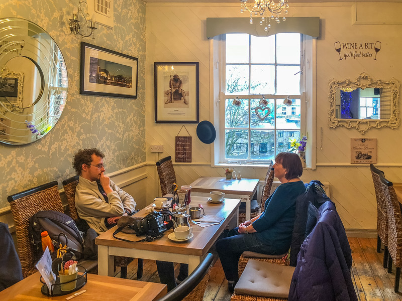 Breakfast @ Treats - Durham, England, UK