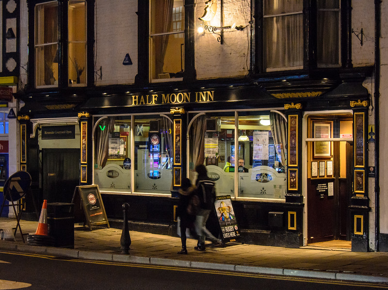 Half Moon Inn - Durham, England, UK