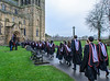 Masters Candidates Process into the Cathedral @ Durham University Congregation - Durham Cathedral, Durham, England, UK