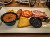 Full English Breakfast @ Treats Coffee Shop - Durham, England, UK