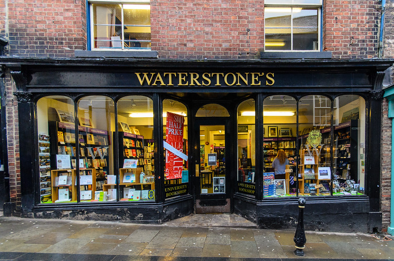 Waterstones University Bookshop - Durham, England, UK