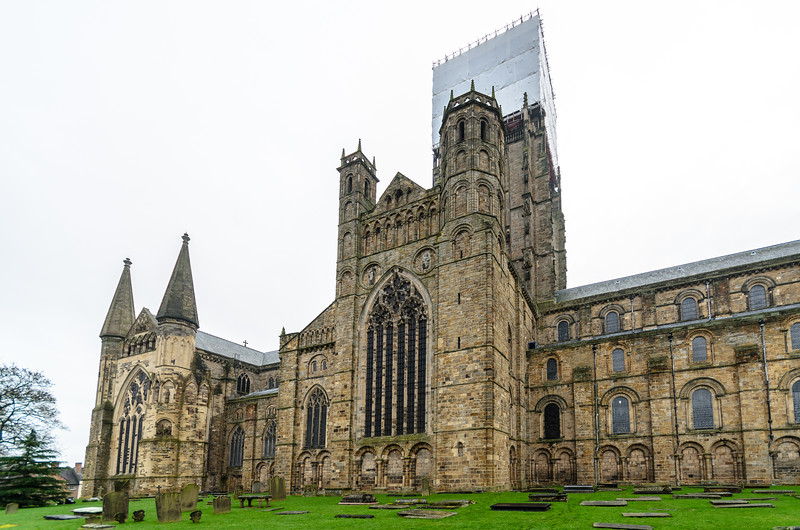 North Transept & End End @ Durham Cathedral - Durham, England, UK