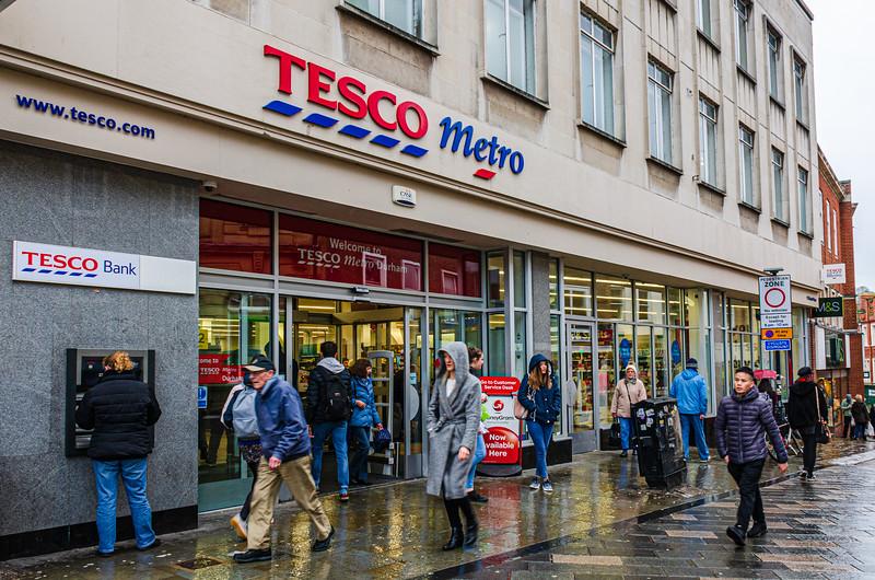 Tesco Metro @ Durham Market Place - Durham, England, UK
