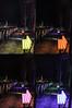 Durham Lightbench from Lumiere 2015 (Bernd Spicker, LBO LichtBankObjekte) @Freeman's Quay - Durham, England, UK