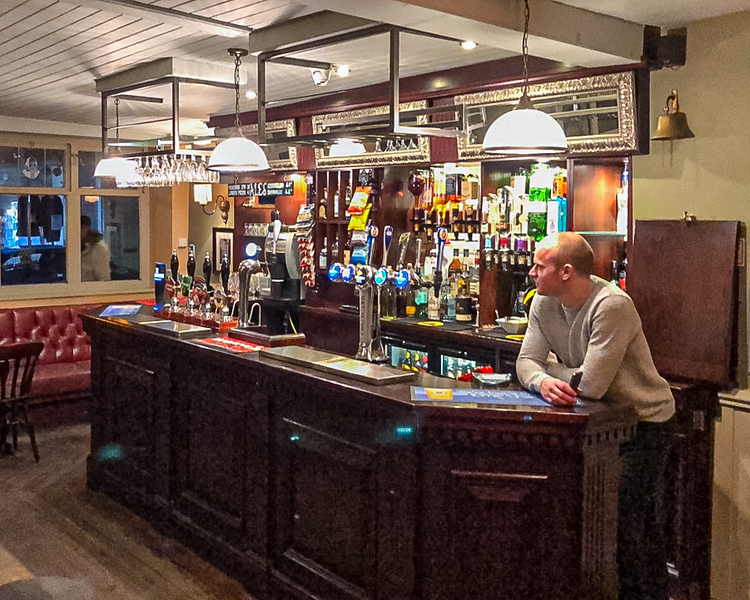 The Shakespeare Tavern Pub - Durham, England, UK