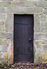 North Door (aka The Devil's Door of Escomb Saxon Church - Escomb village near Bishop Auckland, England, UK