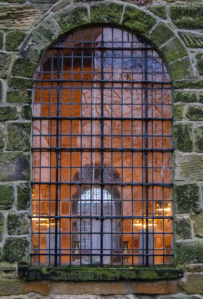 Nave Window @ Escomb Saxon Church - Escomb village near Bishop Auckland, England, UK