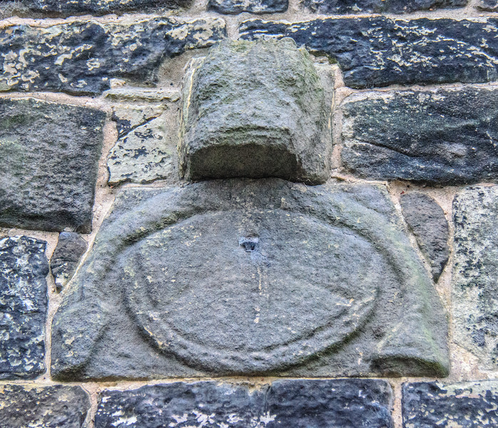 Saxon Sundial c. 700 AD @ Escomb Saxon Church - Escomb village near Bishop Auckland, England, UK